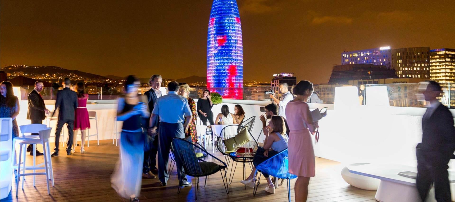 Salas de eventos, reuniones, conferencias y seminarios en Barcelona